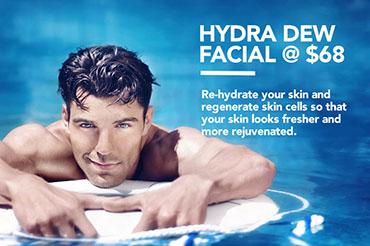 Hydra Dew Facial @ $68