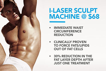 i-Laser Sculpt Machine @ $68